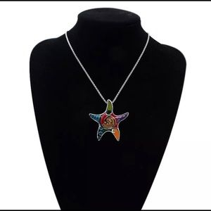 Jewelry - starfish fashion necklace